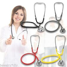 JD Portable Dual Head EMT Clinical Stethoscope Medical Auscultation Device