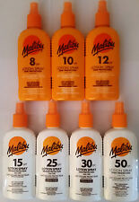 Malibu Sun Lotion Spray 200ml SPF 8 to SPF 50 Low, Medium & High Protection