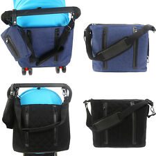 Baby Diaper Nappy Changing Bag Messenger Mummy Tote W/ Small Bag and Diaper Pad