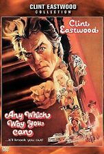 ANY WHICH WAY YOU CAN DVD, Clint Eastwood, Ruth Gordon 1980 Classic Movie
