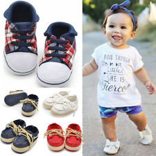 New Infant Toddler Baby Girl boy Red soft sole Crib Shoes Sneaker Toddler Shoes