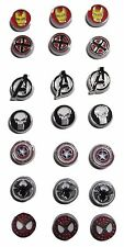 Marvel Comics Super Hero Logos Set of 3 Floating Charms  - You Choose