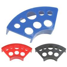 8 Holes Plastic Tattoo Ink Cup Stand Holder for Tattoo Ink Cup Caps Fan-shaped