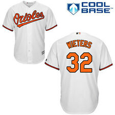 Matt Wieters Baltimore Orioles Majestic Official Cool Base Jersey - Home White
