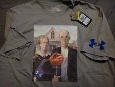 UNDER ARMOUR 1264076 CHARGED COTTON AMERICAN GOTHIC SHIRT SIZE XL MEN NWT $$$$