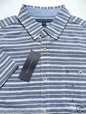 Tommy Hilfiger Shirts Mens XL XLarge Large Short Sleeve Button Casual NEW NWT