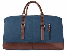 Men Large Canvas Travel Duffel Bag Weekender Extra Tote Satchel Handbag Backpack