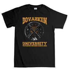 Dovahkin University Since 2011 Gamer Gaming T shirt Tee Top T-shirt