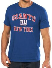 New York Giants Majestic NFL Heart & Soul III Men's Blue T-Shirt