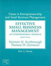 Cases in Entrepreneurship and Small Business Management (8th Edition) - GOOD