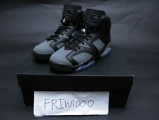 BOYS NIKE AIR JORDAN 6 RETRO - GS YOUTH BLACK/WHITE/COOL GREY 384665-010