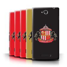 Official Sunderland AFC Case for Sony Xperia C/C2305 /SAFC Football Club Crest