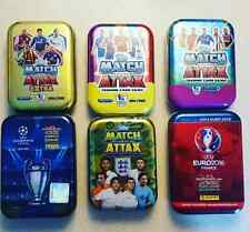 Panini Adrenalyn XL and Match Attax EMPTY Tins- PICK YOUR FAVOURITE