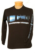 NEW! Youth Harry Potter Forbidden Forest Vintage Long Sleeve Shirt - Black