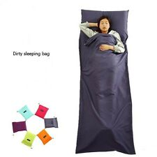 Ultralite Single Liner Silk Inner Travel Hostel Sheet Sack Camping Sleeping Bag