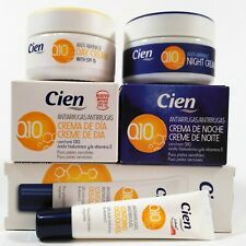 Cien Anti-Wrinkle Day & Night and Eye Contour Cream with Q10 Hyalyronic Acid