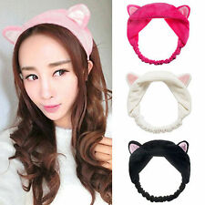 Lady Girls Cute Cat Ears Headband Hairband Hair Head Band Party Gift Headdress