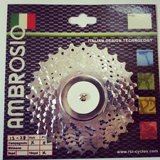 AMBROSIO 10 SPEED ROAD RACING BIKE CASSETTE SHIMANO AND/OR CAMPAGNOLO COMPATIBLE