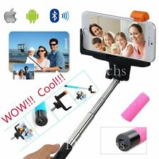Bluetooth Remote Shutter Extendable Selfie Stick Monopod New for iPhone 6 5S 4S