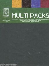 Handmade Mulberry Paper Multipack - 20 Sheets A4 (8.5