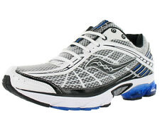 Saucony Grid Raider Athletic Mens Running Shoes White/black/blue Size