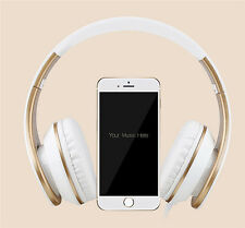Headphones with Microphone and Volume Control  Foldable Headset for Smart phone