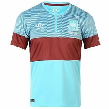 100% Authentic Umbro West Ham United Junior Away Shirt 2015-16, 11/12, 13/14yrs
