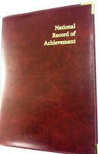 (PU LEATHERETTE) TOP QUALITITY NATIONAL RECORD OF ACHIEVEMENT FOLDER