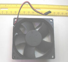 "Fan, Computer, 80/80/25 mm, 3.62/3.62/1"" inch, 12 vdc/volts, 72mm/2.8""  holes,"