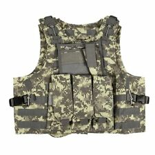 Quality Tactical Military SWAT Police Airsoft Molle Plate Carrier Combat Vest