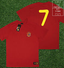 Spain Shirt - Toffs Licensed Retro Football Shirt - Number 7