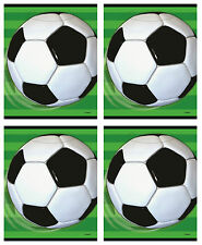 Football Soccer Party Loot Favour Bags 1-48pk