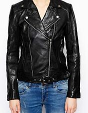 NEW Womens 100% Leather Lambskin Jacket Coat, Made to your Measurements - WJ28