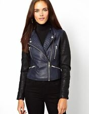 NEW Womens 100% Leather Lambskin Jacket Coat, Made to your Measurements - WJ71