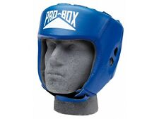 Pro-Box Club Essentials Leather Headguard - Sparring / Spar / Boxing / Open Face