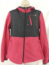 Free Country Microtech Fleece Hooded Jacket Women's Size M NWT
