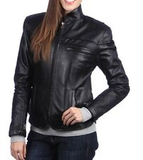 NEW Womens 100% Leather Lambskin Jacket Coat, Made to your Measurements - WJ157