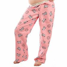 Life is Good Candy Pink Jackie Bubble Bathtub Pajamas Lounge Pants Sleep PJs NWT