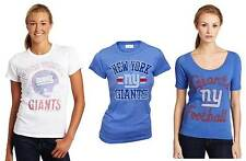 Choose Juniors Junk Food NFL Football New York NY Giants Team T-Shirt Tee Shirt