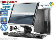 HP COMPAQ 8100 SFF PC CHEAP CORE I5 3.20GHz WITH LED HD MONITOR MOUSE