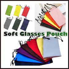 glasses sunglasses spectacles case bag pouch drawstring soft wallet phone