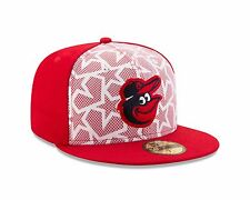 Baltimore Orioles New Era 2016 White/Red Stars & Stripes 59FIFTY Fitted Hat