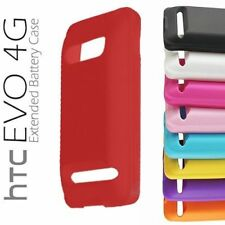 HTC EVO 4G Extended Battery Cover's Silicone Case - New - Free Shipping