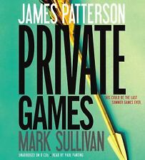 Private Games by James Patterson and Mark Sullivan - Unabridged Audio CD 2012