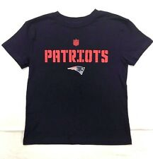 NFL Team Apparel New England Patriots Boys Youth Squadron Shirt Navy Sizes 4-20