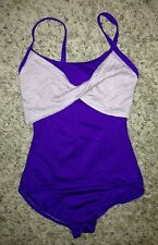 NEW Motionwear Purple Dance Ballet Jazz Camisole Leotard Adult S Small