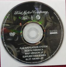 2006 Ford Lincoln Mercury Navigation System DVD MAP Update Version 2P
