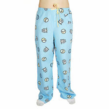 Life is Good Jeans Blue Owl Moon Star Pajamas Lounge Sleep Pants Sleepwear PJs