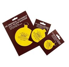 SELF ADHESIVE PLATE DISC INVISIBLE PICTURE HANGING STICKY BACK ON HOOK HANGER *