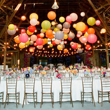 """6""""8""""10""""12""""14""""16""""18""""20""""colorful Chinese Paper Lantern Wedding Party Decoration"""